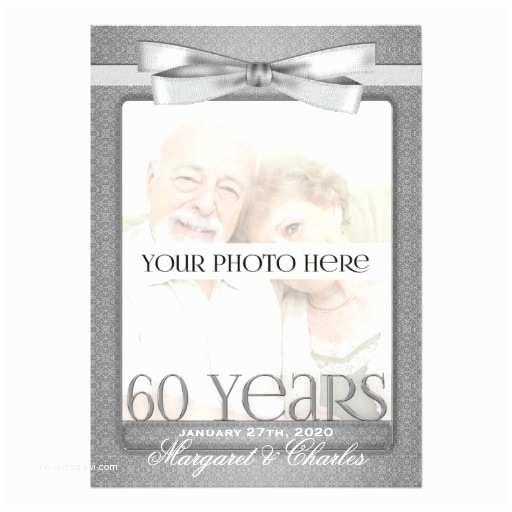 60th Wedding Anniversary Invitation Wording 60th Diamond Wedding Anniversary Invitations