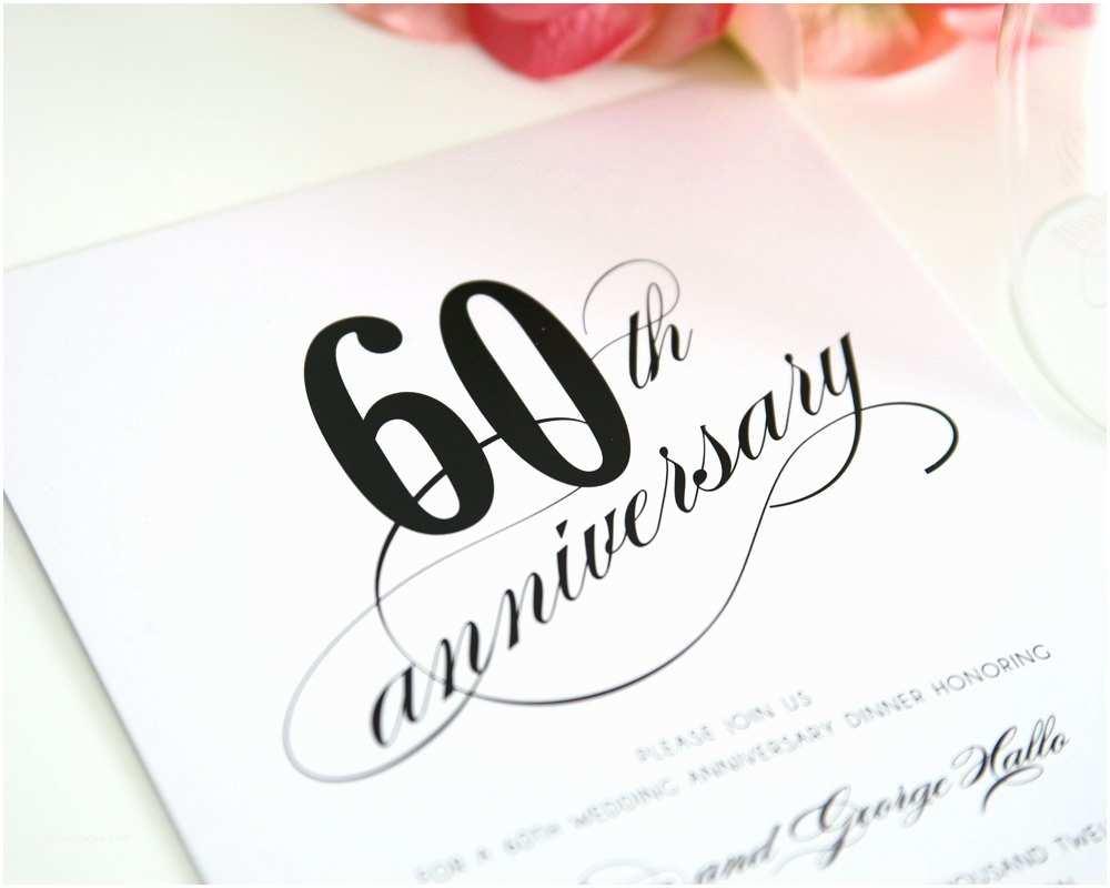 60th Wedding Anniversary Invitation Wording 60th Wedding Anniversary Party Invitations