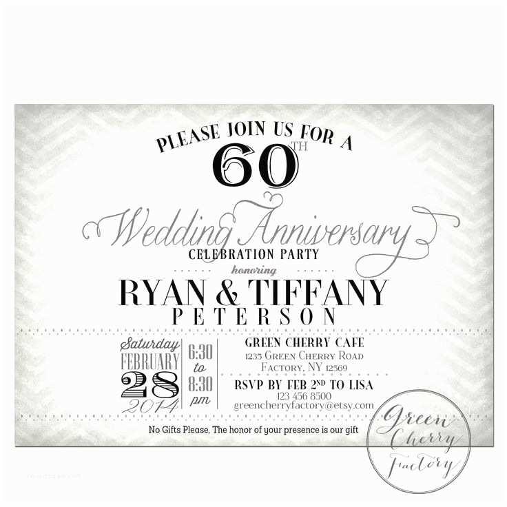 60th Wedding Anniversary Invitation Wording Pinterest • the World's Catalog Of Ideas