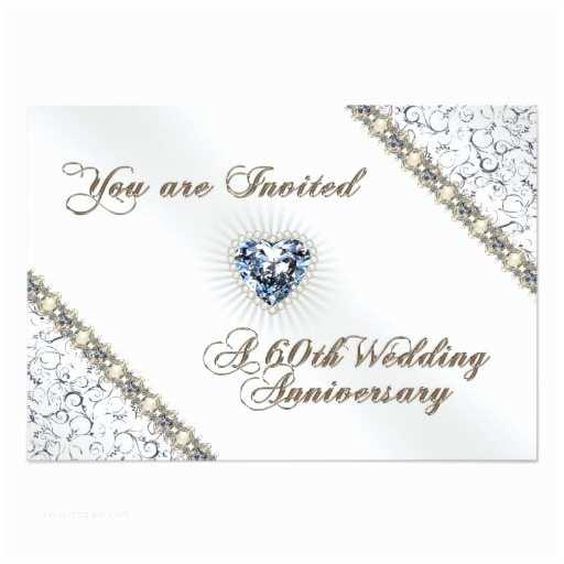 60th Wedding Anniversary Invitations 60th Wedding Anniversary Rsvp Invitation Card