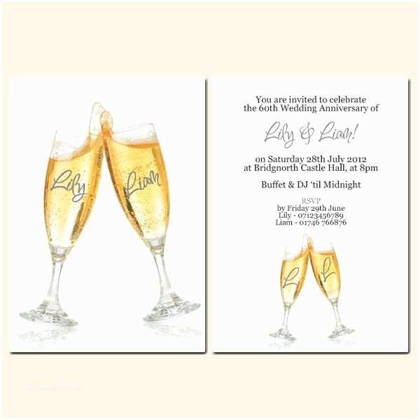 60th Wedding Anniversary Invitations Free Templates 60th Wedding Anniversary Invitations Personalised