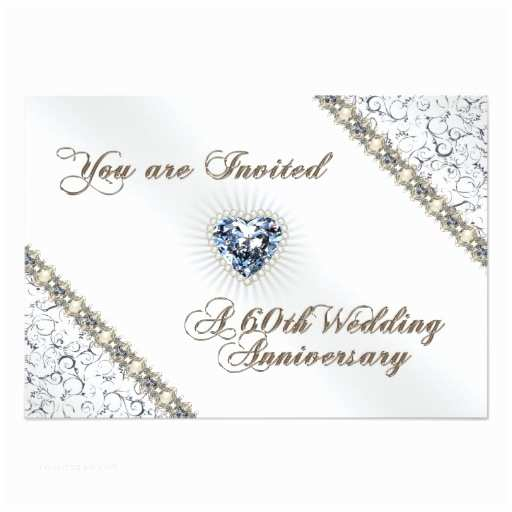 60th Wedding Anniversary Invitations Free Templates 60th Wedding Anniversary Rsvp Invitation Card