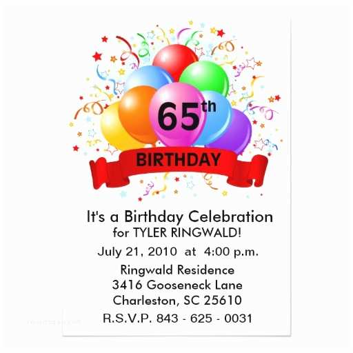 65th Birthday Invitations 2 000 65th Birthday Invitations 65th Birthday