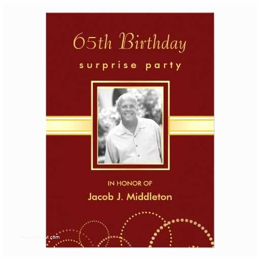 65th Birthday Invitations 2 000