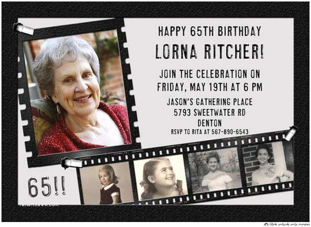 65th Birthday Invitations 44 Best Images About On