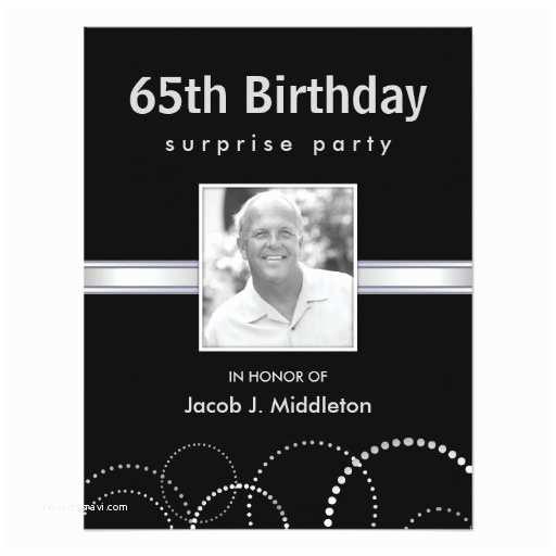 65th Birthday Invitations 65th Birthday Surprise Party Invitations