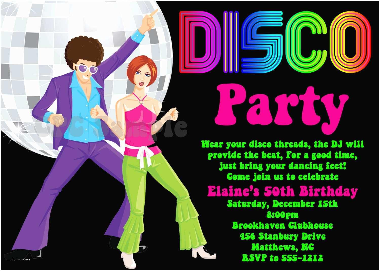 70s Party Invitations Disco Party Invitation 70s 80s 90s Disco Dance Party