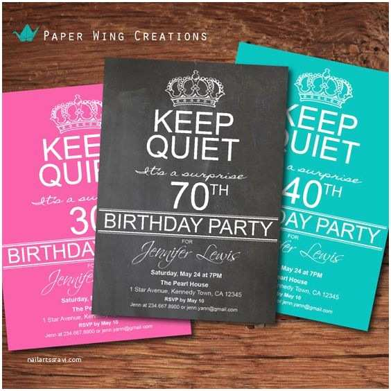 70th Birthday Invitations 8 70th Birthday Party Invitations for Your Ideas