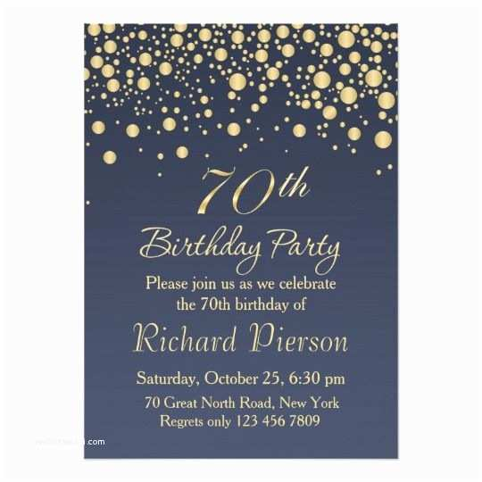 70th Birthday Party Invitations Download 70th Birthday Invitation Designs