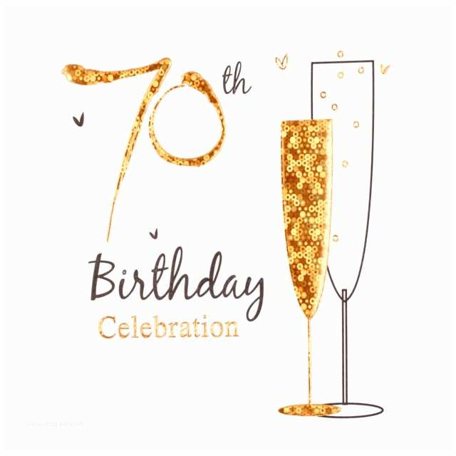 70th Birthday Party Invitations Simon Elvin Holographic 70th Birthday Party Card