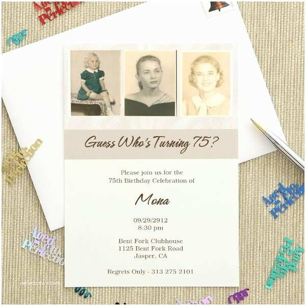 75th Birthday Invitations 61 Best Images About 75th Birthday Invitations On