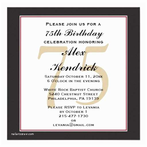 75th Birthday Party Invitations 1000 Ideas About 75th Birthday Decorations On Pinterest