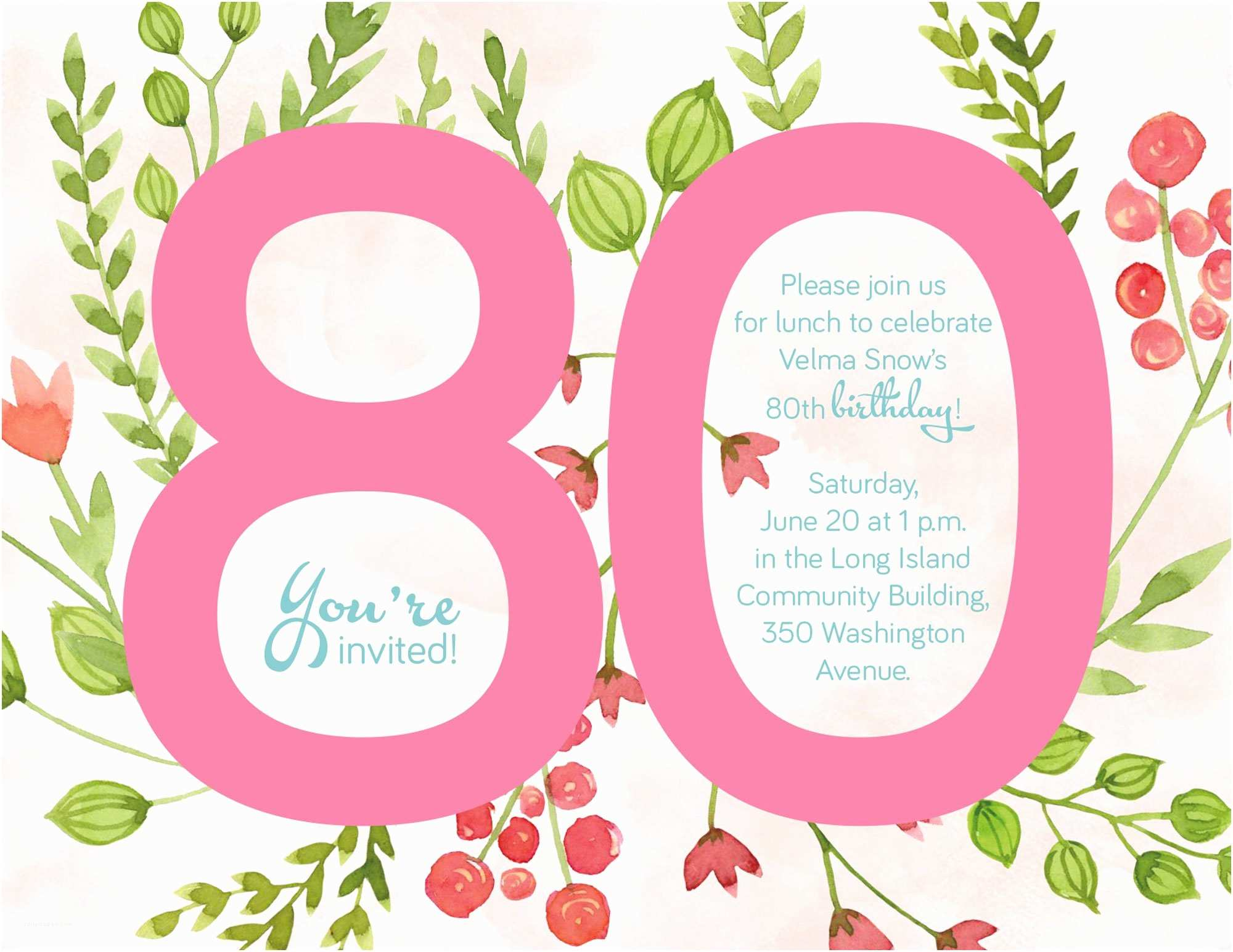 80 birthday invitations cu857 80s themed back to the future