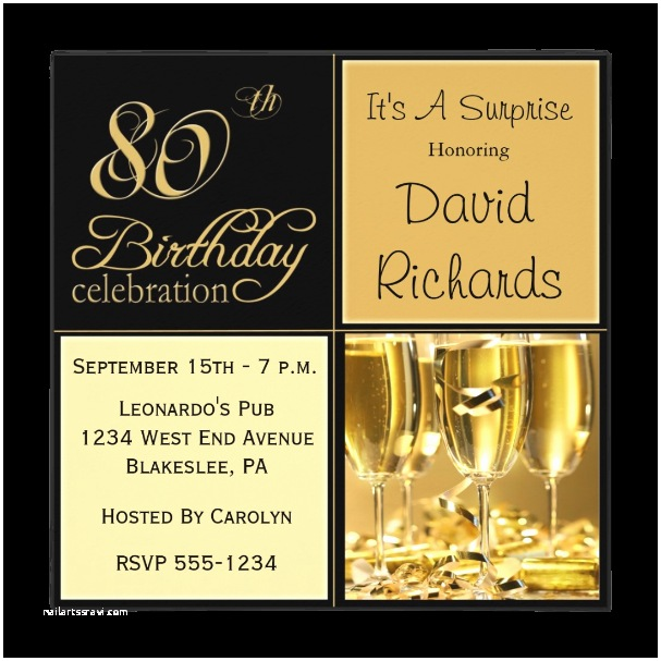 80th Birthday Invitation 80th Birthday Invitations 80th Birthday Ideas