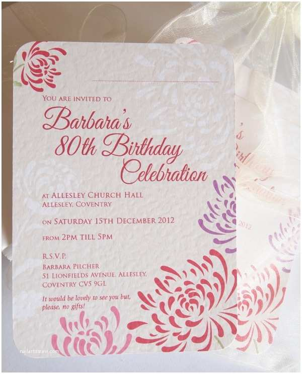 80th Birthday Invitations 22 Best 80th Invitation Images On Pinterest