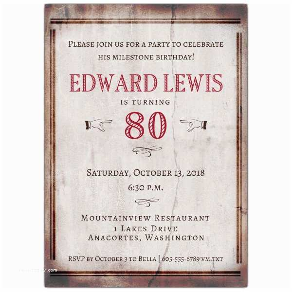 80th Birthday Party Invitations Quotes for 80th Birthday Invitation Quotesgram