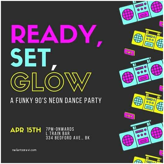 90s Party Invitation 22 Best Circa 1995 Images On Pinterest