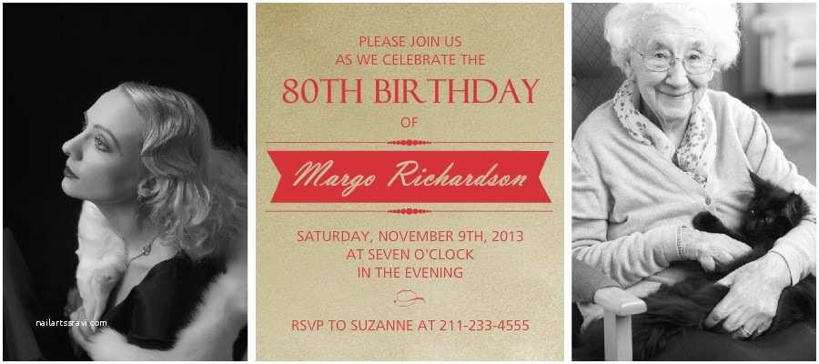 90s Party Invitation Template 90th Birthday Invitations Templates