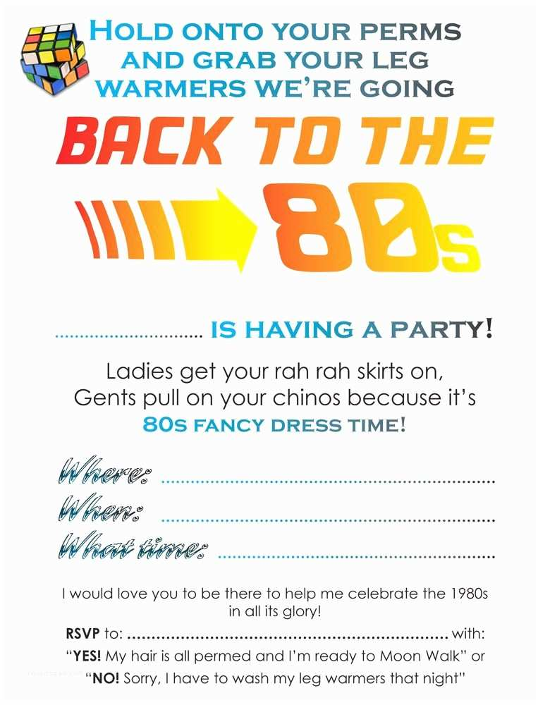90s Party Invitation Template Pin by Keri West On 70s 80s