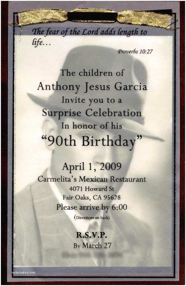 90th Birthday Party Invitations 90th Birthday Invites Made by Lanette Pinterest