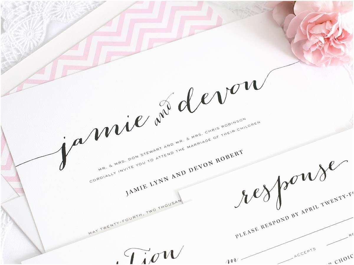 A Wedding Invitation Wedding Invitations