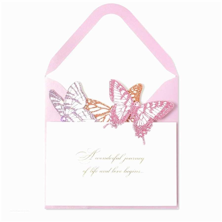 Accordion Wedding Invitations Accordion butterfly Wedding Cards