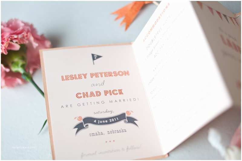 Accordion Wedding Invitations Lesley Chad S Accordion Save the Dates