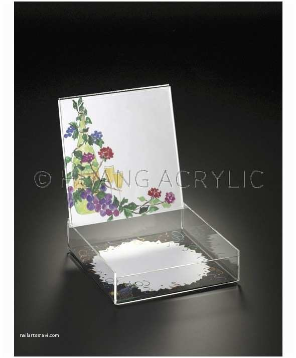 Acrylic Wedding Invitations with Box 8 X 8 Wedding Invitation Box W Slide In Photo Lid Desk
