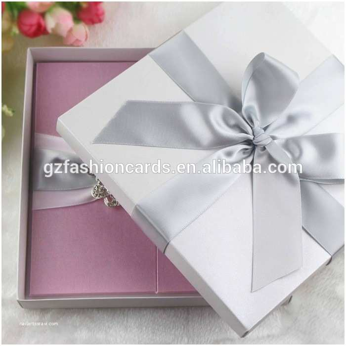 Acrylic Wedding Invitations with Box Customized European Style Acrylic Wedding Invitation with
