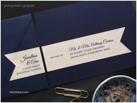 Address Labels for Wedding Invitations Personalized Mailing Address Labels for Wedding Invitations