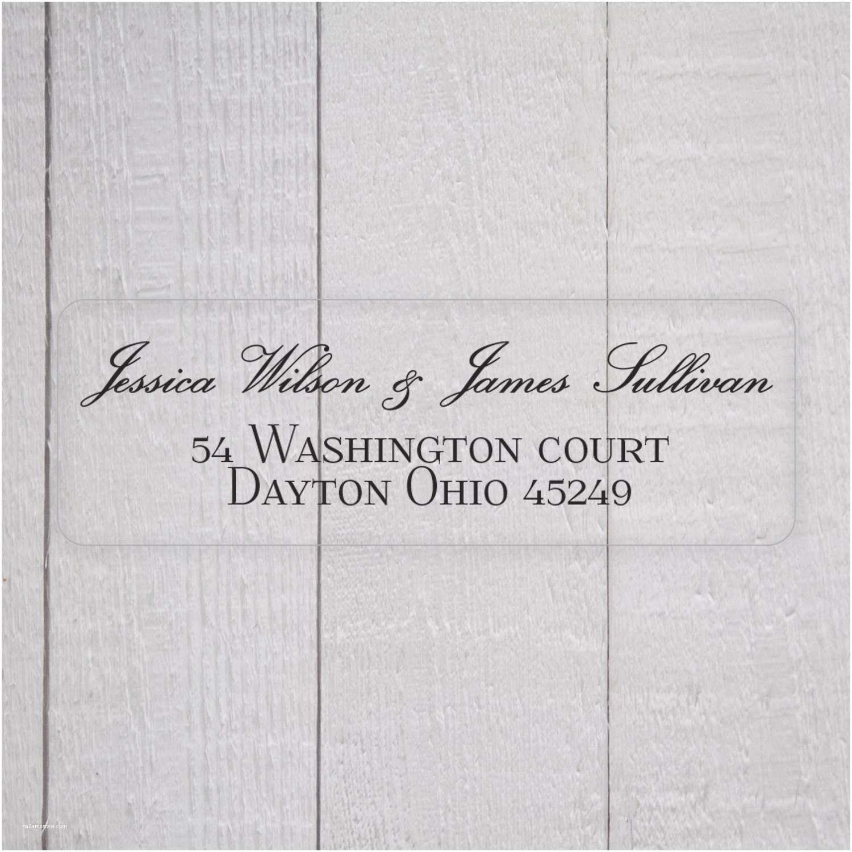 Address Labels for Wedding Invitations Wedding Invitation Return Address Labels White by