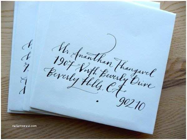 Addressing Wedding Invitation Envelopes 23 Best Images About Calligraphy On Pinterest