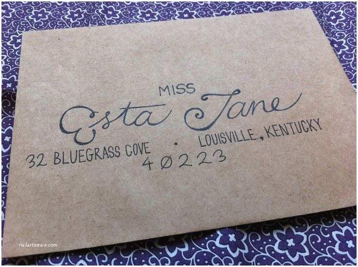 Addressing Wedding Invitation Envelopes 25 Best Handwritten Wedding Invitations Ideas On