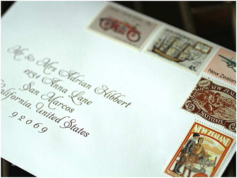 Addressing Wedding Invitation Envelopes Wedding Invitation Etiquette