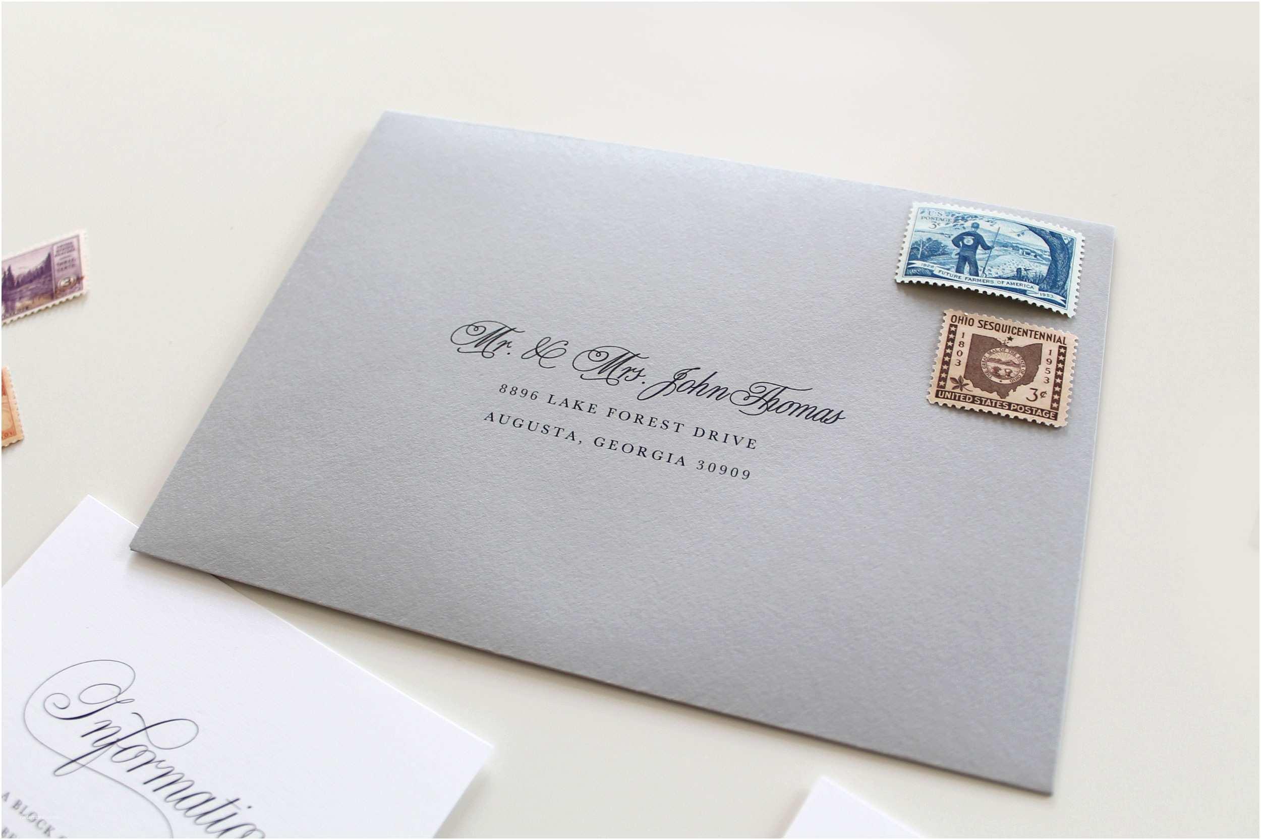 Addressing Wedding Invitation Envelopes Charlotte Wedding Invitations Traditional Wedding