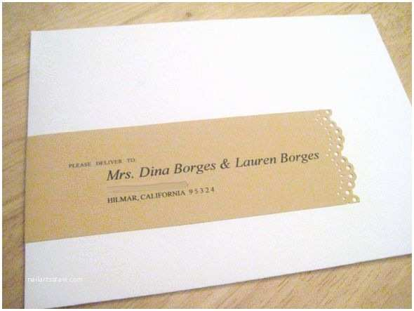 Addressing Wedding Invitation Envelopes to Add My Personal touch I Focused On the Address Labels