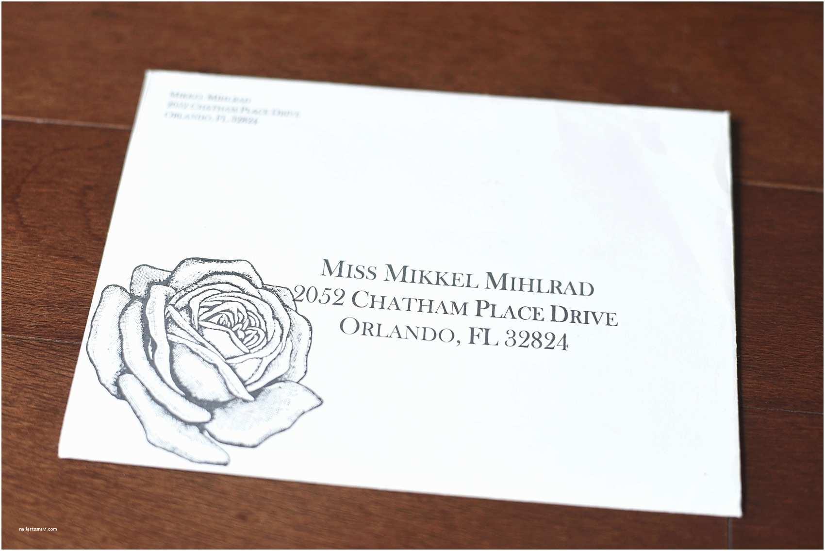 Addressing Wedding Invitation Envelopes Wedding Envelope Addressing Ideas