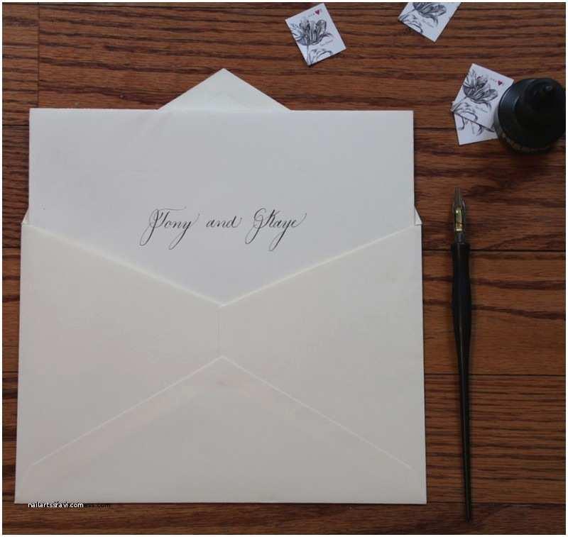 Addressing Wedding Invitation Envelopes Wedding Invitation Inspirational Inside Envelope Wedding