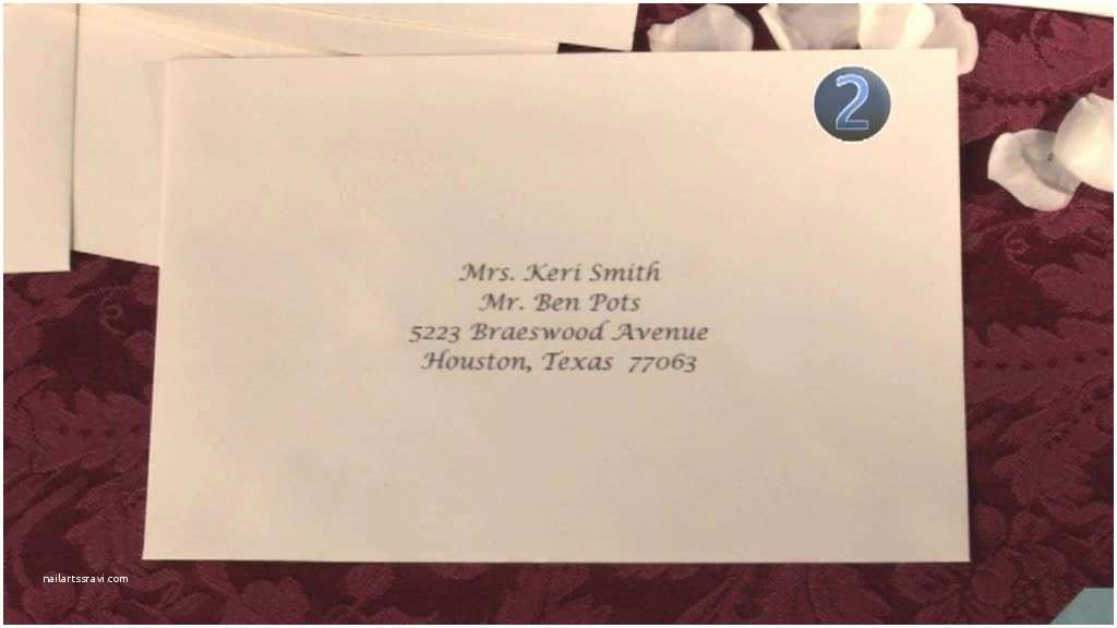 Addressing Wedding Invitations to A Family Addressing Wedding Invitations to Families