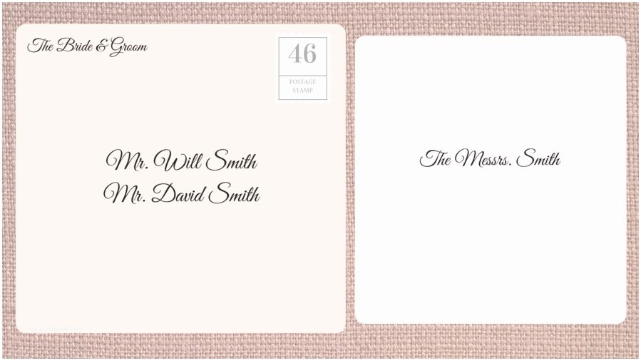 Addressing Wedding Invitations to A Family How to Address Wedding Invitations southern Living