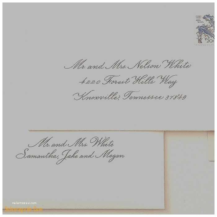 Addressing Wedding Invitations to A Family Templates How to Address Wedding Invitations Families with