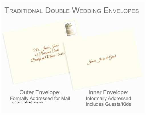 Addressing Wedding Invitations to A Family Wedding Invitation Elegant Addressing Wedding Invitations