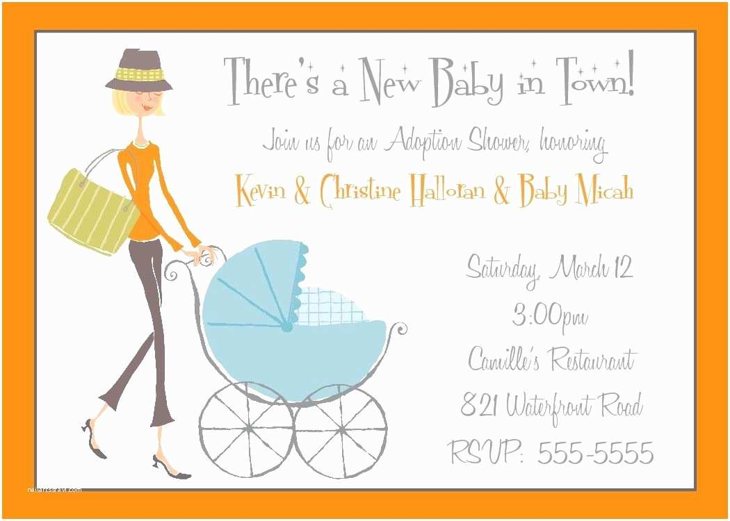 Adoption Party Invitations Adoption Shower Invitation or Baby Shower by