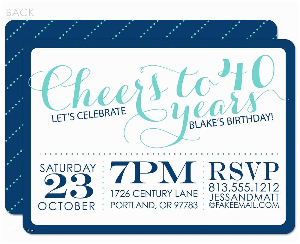 elegant adult birthday invitations ideas