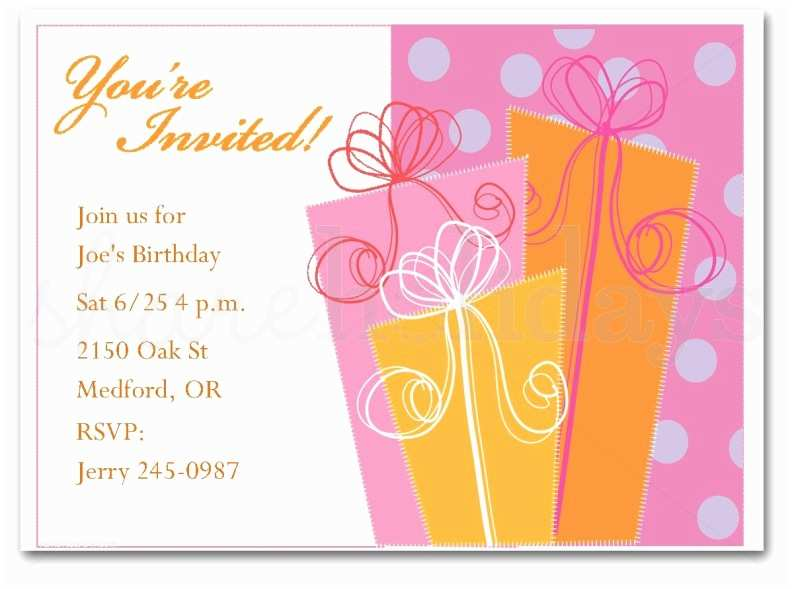 Adult Birthday Party Invitations Free Adult Party Invitation