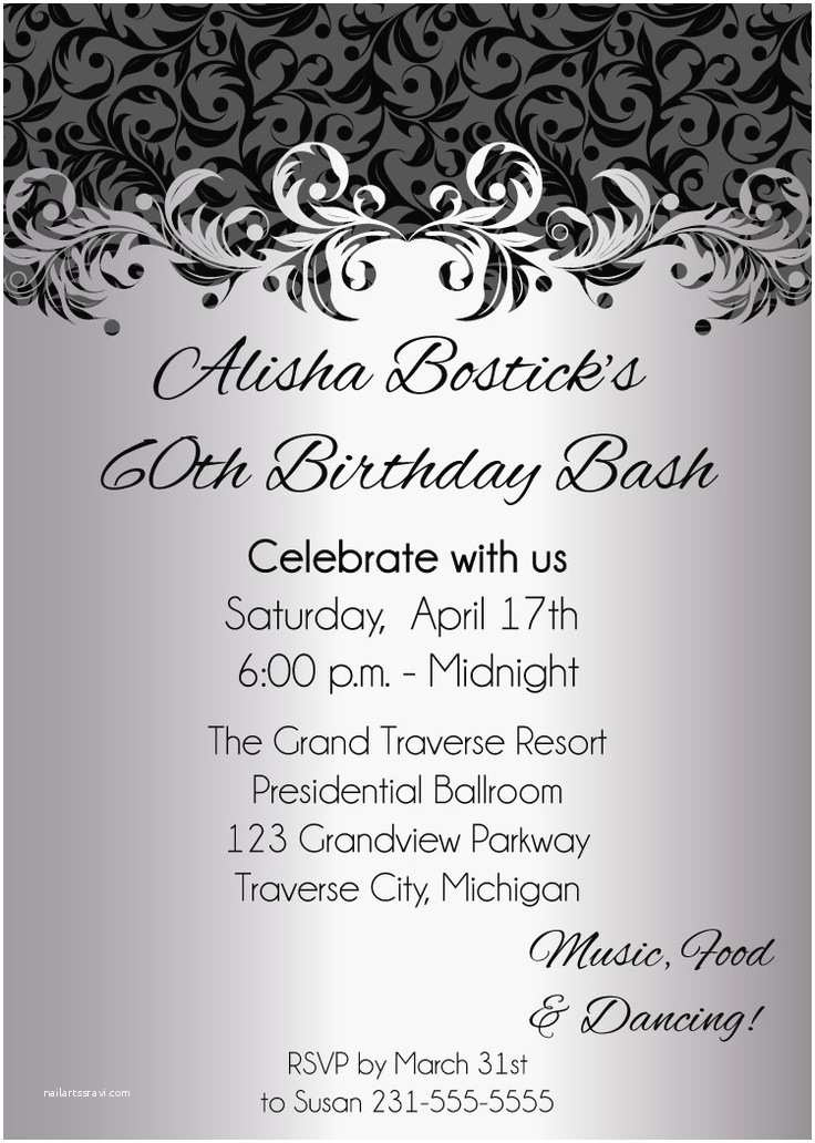 Adult Birthday Party Invitations Pin by Michelle Shores On Birthday Party