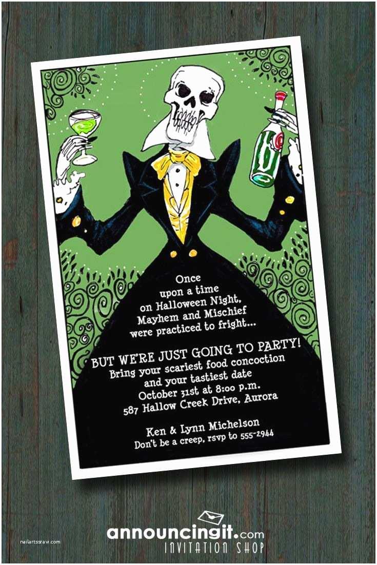 adult halloween invitations