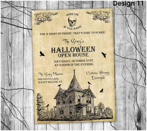 Adult Halloween Party Invitations Halloween Invitation Printable Adult Halloween Invitation