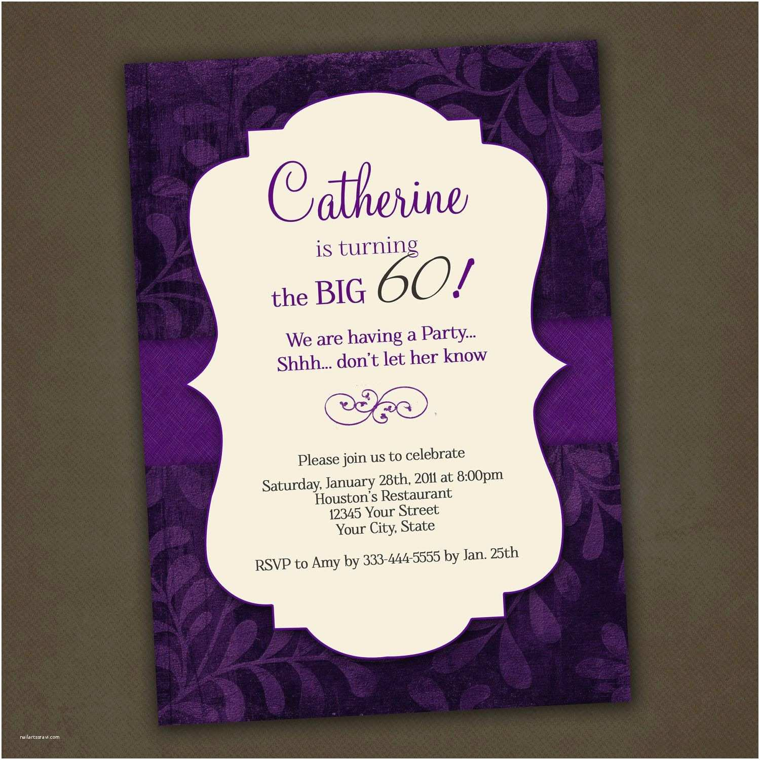 Adult Party Invitations Adult Birthday Invitation Adult Birthday Invitations