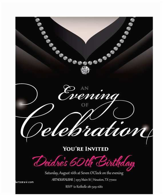 Adult Party Invitations Gown Invitation Birthday Party Invite for by Announceitfavors